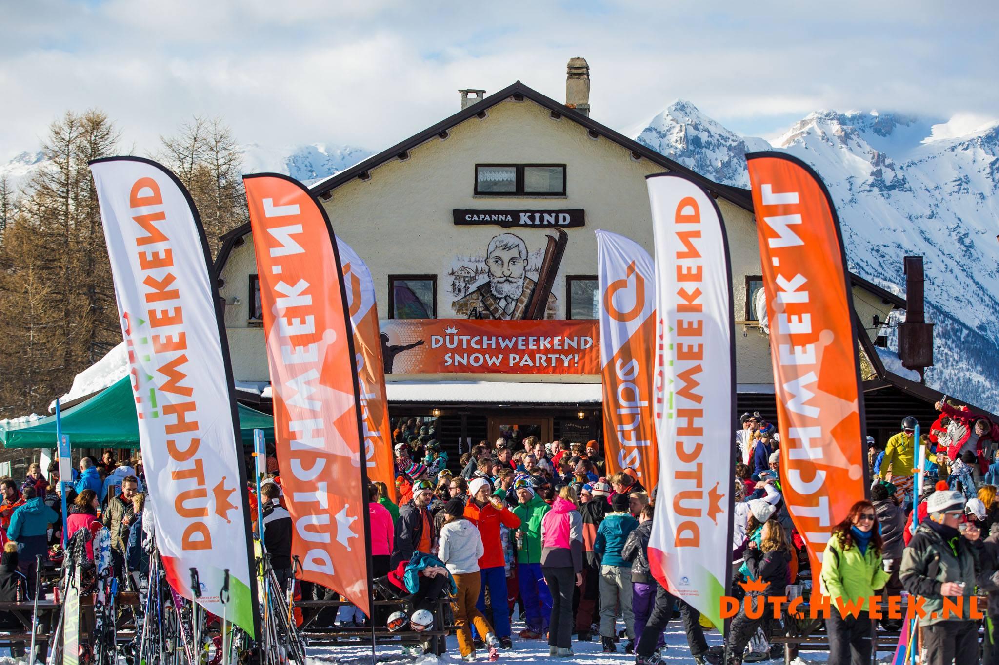 Dutchweekend Italia - après-ski