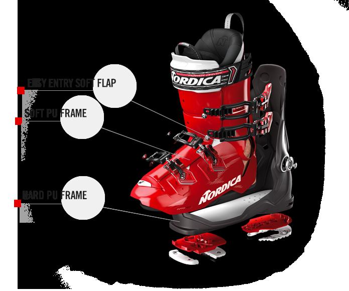 Lichtgewicht skischoen