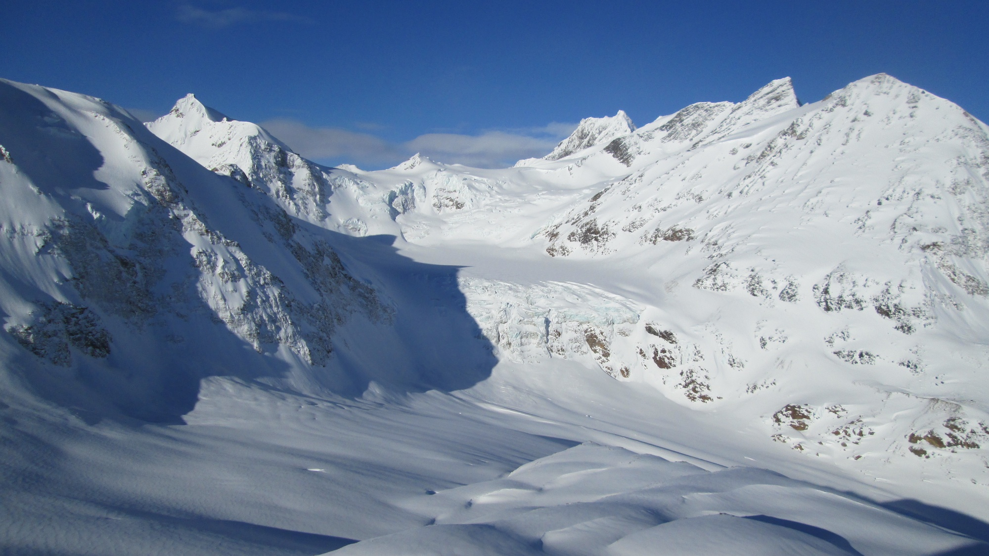 Skigebied van Valemount