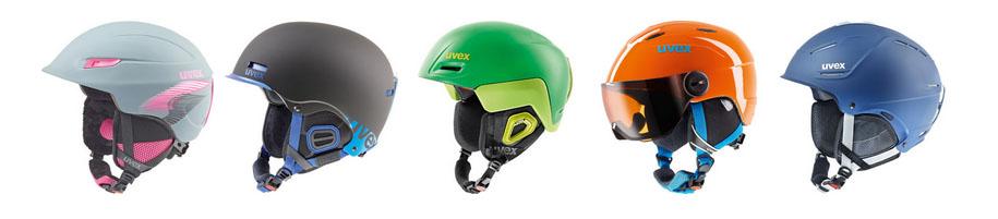 Uvex helmen
